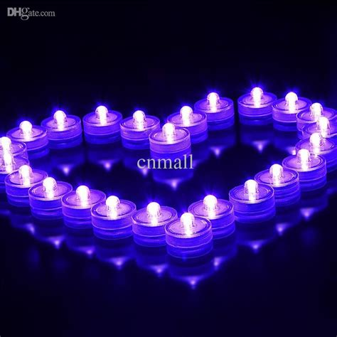 celebrations brand lights wholesale brand led submersible candle light waterproof