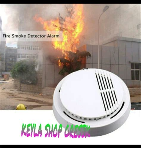 jual alat keamanan  deteksi asap rokok gas sirine