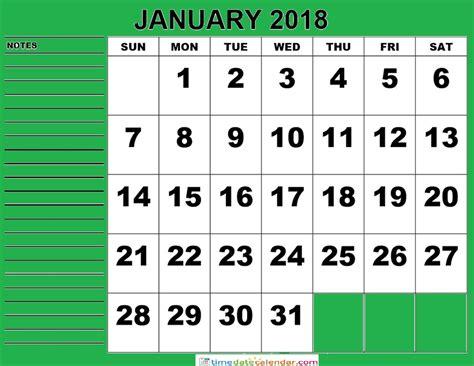 january 2018 calendar free printable calendar com