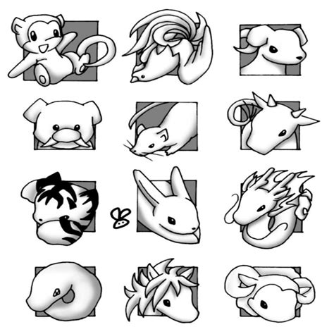 zodiac color beautiful chinese zodiac coloring pages printable