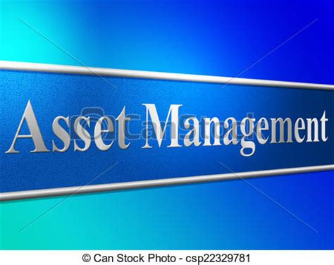 Business Asset Search Stock Illustration Of Asset Management Means Business Assets And Administration