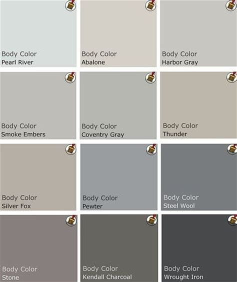 benjamin moore favorite grays benjamin moore top picks for grays color pinterest