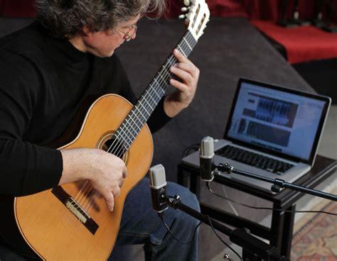 mic recordings recording classical guitar apogee