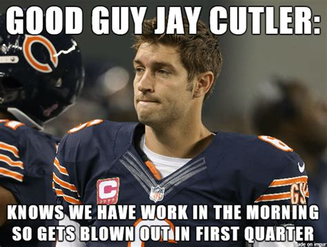 Cutler Meme - everything you need to know from week 10 of the nfl