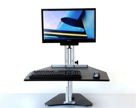 kangaroo adjustable height desk shop ergo desktop kangaroo pro adjustable height desk