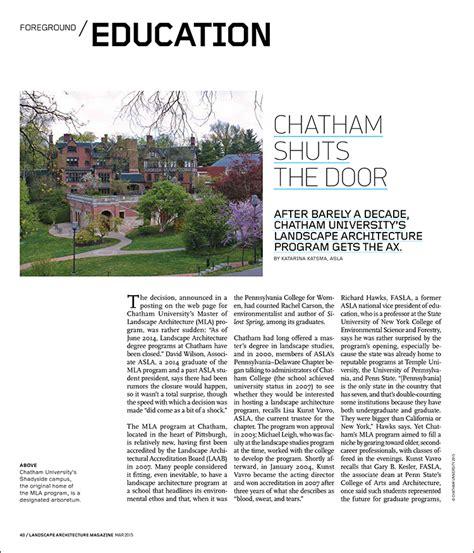 Landscape Architecture Magazine The Magazine Of The Landscape Architecture Magazine