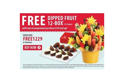 edible arrangements coupon code mother's day 2018