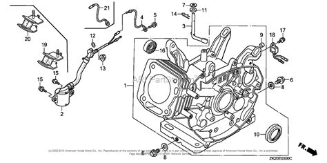 honda gx240 parts diagram honda engines gx240k1 vmt2 engine jpn vin gc04 4400001