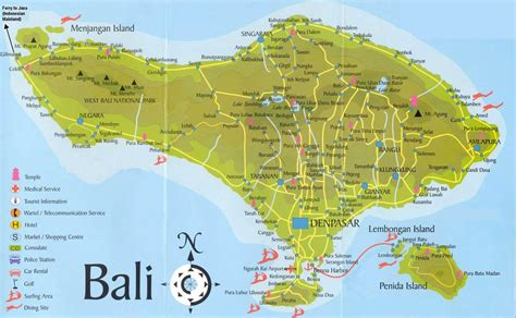 Hotels Near Bali Garden Beach Resort by Large Bali Maps For Free Download And Print High