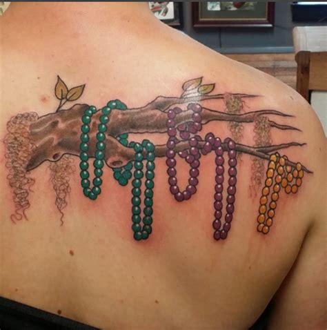 mardi gras tattoos 10 beautifully colorful mardi gras tattoos artist