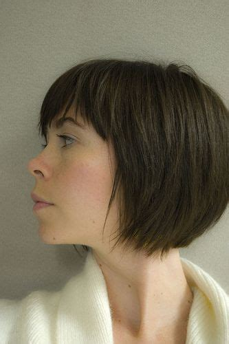 what does a bob hair cut loom like bobs bangs and shorts on pinterest
