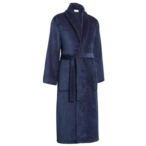 dressing gown derek triton 10 cotton velour dressing gown