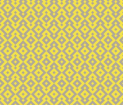 yellow diamond pattern fabric geometric pattern diamond yellow fabric red wolf