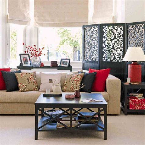 asian colors for living room fantastic concept of family room with sofa plus square pillows also coffee table made of wooden