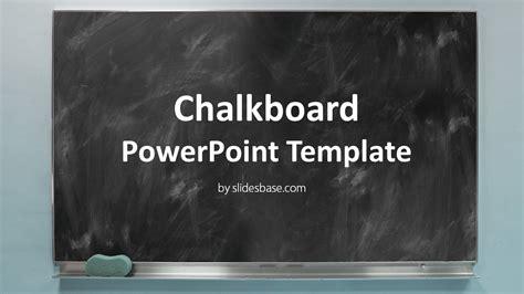 Blackboard Chalkboard Powerpoint Template Slidesbase Chalkboard Powerpoint Templates