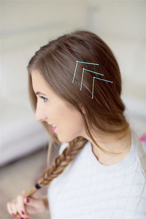 Hairstyles With Bobby Pins by 2016 Trendy Bobby Pin Hairstyles Hairstyles 2017 New