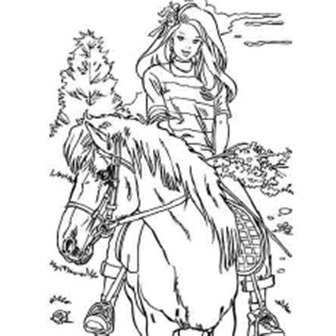 pony island coloring pages coloring pages barbie horse coloring page