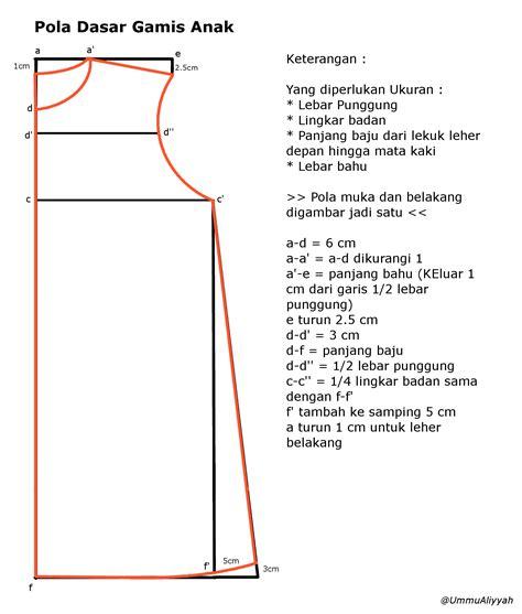 membuat pola baju gamis modern cara menggambar pola baju gamis wanita hijab nemo