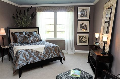 blue  brown bedroom color scheme home decor house painting interior decorating interior