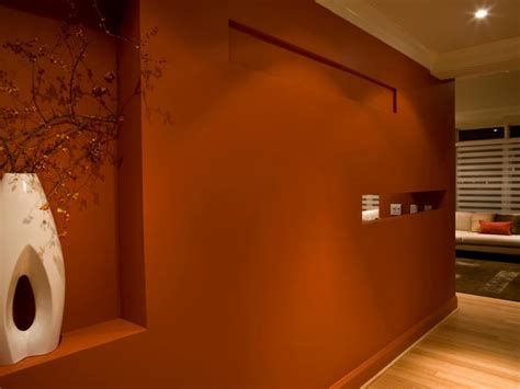 rust paint color hgtv designers portfolio rust colored wall paint for