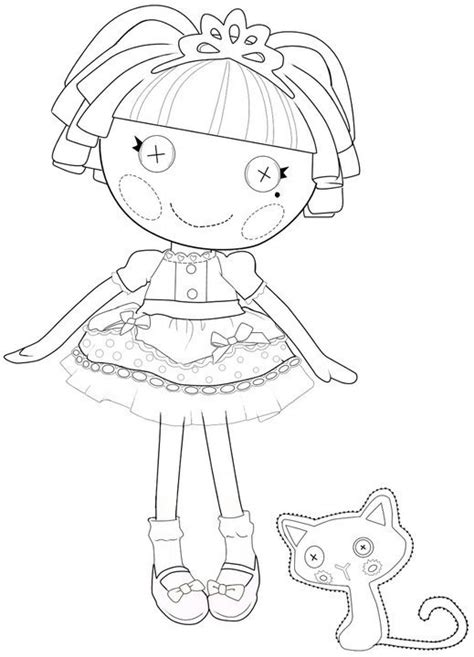 lalaloopsy mittens coloring page kids n fun com 16 coloring pages of lalaloopsy