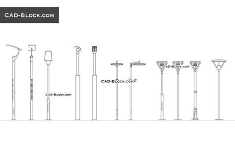 street lights cad blocks free download street lighting free autocad blocks download cad models