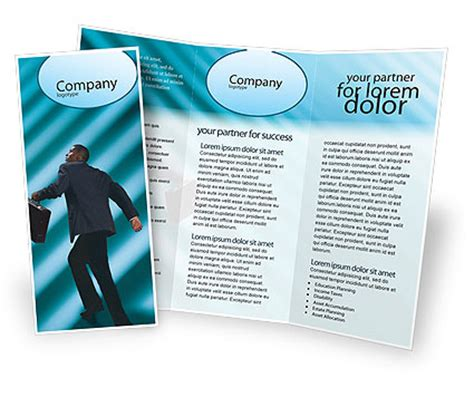 career brochure template career climbing brochure template design and layout