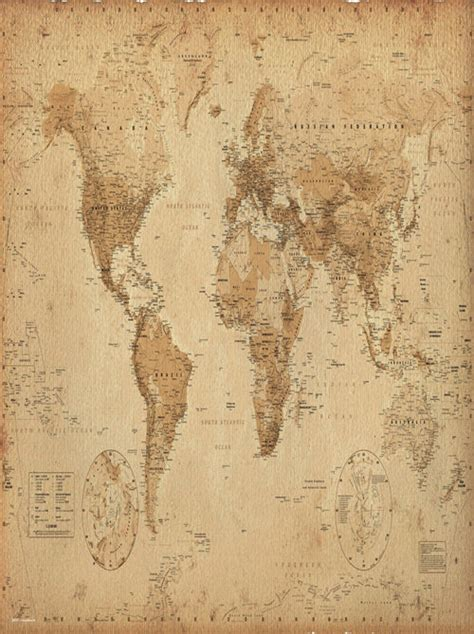 world map with cities poster world map poster for only 163 3 95 at merchandisingplaza uk