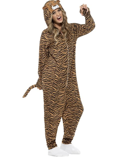 tiger costume tiger onesie costume 55002 fancy dress