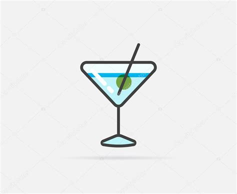 cocktail logo 100 cocktail icon vector tropical watermelon