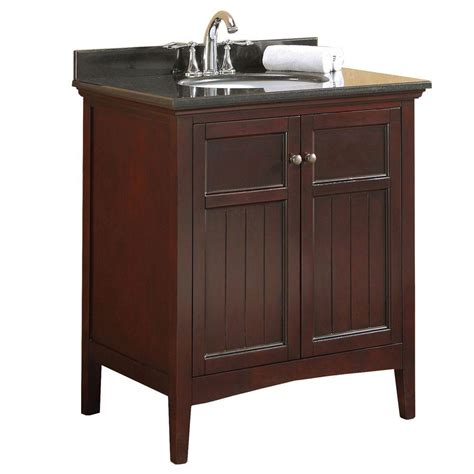 Ove Vanity by Ove Decors Gavin 30 In Vanity In Tobacco Stain With