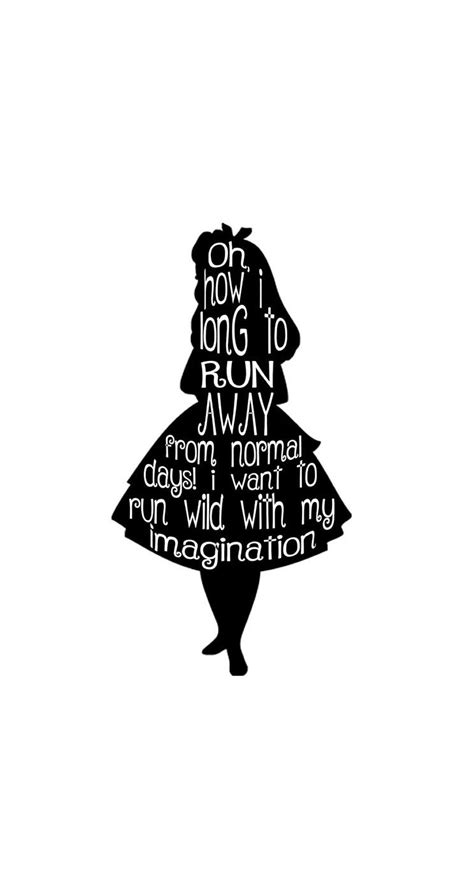 #alice #wonderland #quotes #background #wallpaper #hd # ... Iphone 5 Wallpaper Artsy