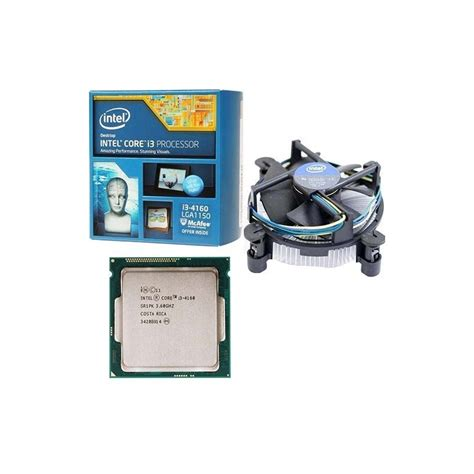 Intel I3 4160 3 6ghz Cache 3mb Box Socket Lga Diskon procesador intel i3 4160 3 6 ghz lga 1150