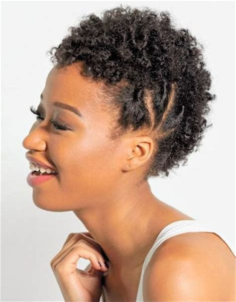 easy twa hairstyles 20 fabulous short and curly hairstyles for black women