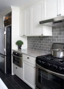 gray backsplash kitchen 25 best ideas about subway tile backsplash on