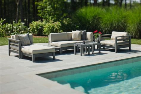 seaside outdoor furniture seaside casual cambridge sectional patio furniture and