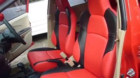 Cover Jok Mobil Honda Brio modif jok mobil honda brio warna merah