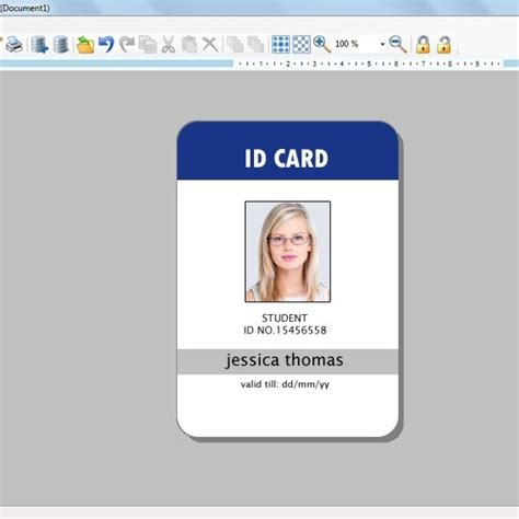 id free photo id badge template badge template images