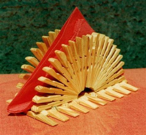 Epingle A Linge Decorative 4472 by Decorative Clothespeg Napkin Holder Wooden By