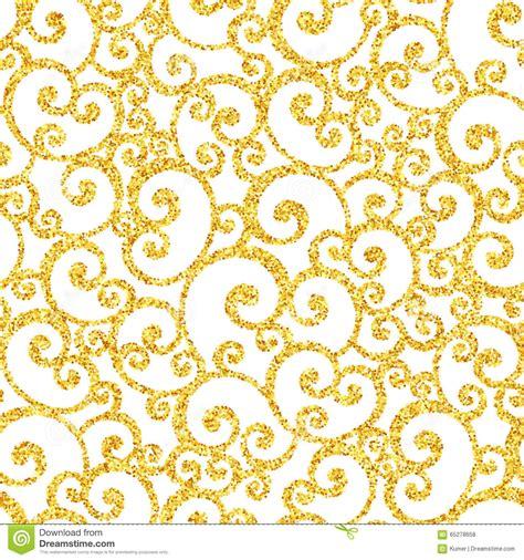 gold glitter pattern vector abstract vector gold dust glitter swirl seamless stock
