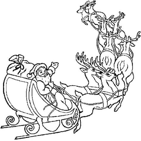 Online Christmas Coloring Book Printables Santa Santa Tree Coloring Page