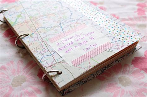 How To Make Handmade Journals - make your own travel journal