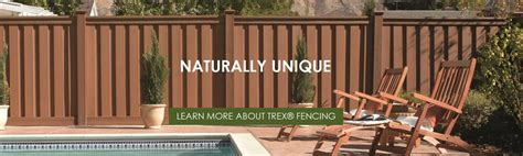Garden Inspiration by Trex Fencing The Composite Alternative To Wood Amp Vinyl