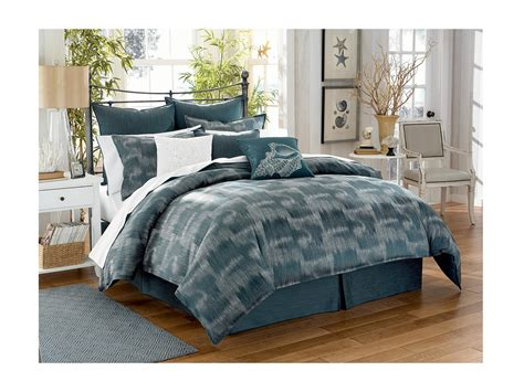 tommy bahama comforter set king tommy bahama indigo ombre cal king comforter set shipped