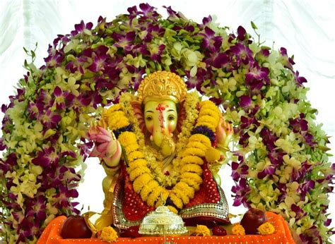 awesome ganpati decoration ideas  home dholdhamaka