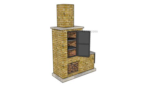 backyard smoker plans brick smoker plans www grabthebasics com barbeque