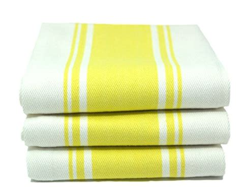 kitchen dish towels 100 cotton vintage stripe 6 pack size kitchen dish tea towels by cucinare 100 cotton