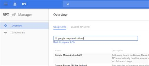 android api console how to enable quot maps android api v2 quot in developers