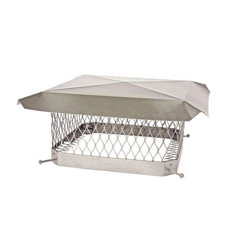 Chimney Mesh Covers - shelter 18 in x 18 in mesh chimney cap in stainless