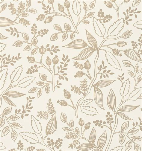rifle paper company wallpaper queen anne taupe wallpaper by rifle from rifle paper co